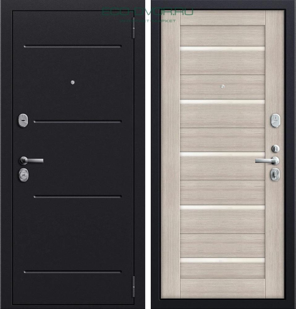 дверь металлическая мдф белый венге