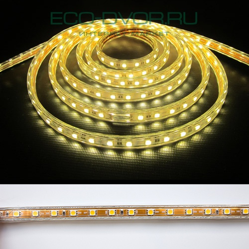 Лента LED Artpole Light 220В, SMD5050, 60 диодов на м., IP68, 15Вт