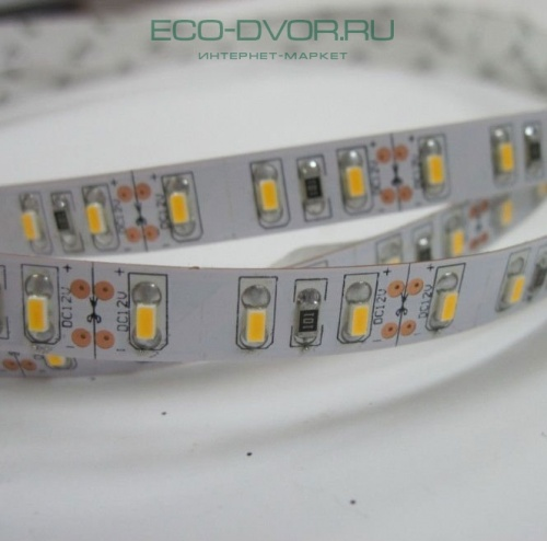 Лента SMD LED Flexible Strips 12В SMD3014 120 диодов на м. IP20 12Вт